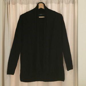 Zara drapey black cardigan